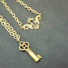antique key necklace images Best antique skeleton key locks with keys products on wanelo jpg