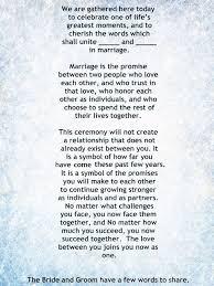 wedding sermons best 25 wedding ceremony script ideas on wedding