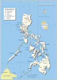 Asia Map With Country Names by Political Map Of Philippines Nations Online Project