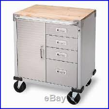 metal storage cabinet with drawers garage rolling metal cart tool organizer storage cabinet 4 drawers 2
