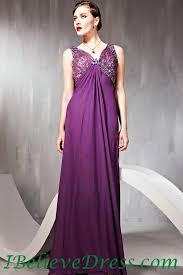 maternity evening wear chiffon v neck maternity evening gowns purple patterns length