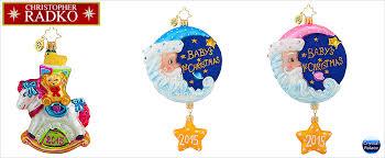 christopher radko baby children ornaments
