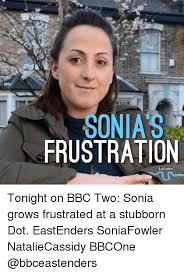 Sonia Meme - sonia s frustration eastenders tonight on bbc two sonia grows