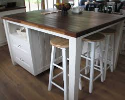 fabulous kitchen island with seating for 4 and best 25 build - Free Kitchen Island