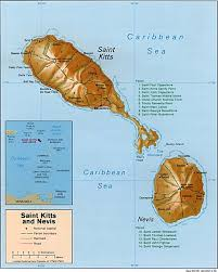 St Thomas Island Map Nationmaster Maps Of Saint Kitts And Nevis 2 In Total