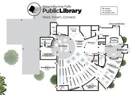 Empire State Building Floor Plan Library Floorplan Stow Munroe Falls Public Library