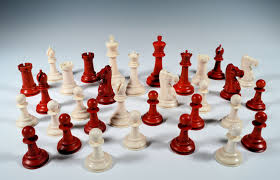 rare jaques ivory chess set in a fitted box richard gardner