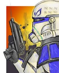 captain rex under fire by kenpudiosaki on deviantart