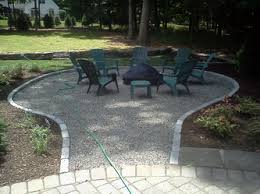 Gravel Fire Pit Area - photo gallery epic land design beyond the ordinary