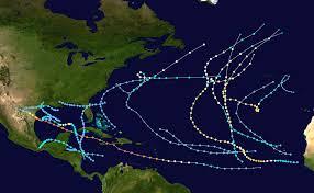 Caribbean Weather Map by 1980 Atlantic Hurricane Season Wikipedia