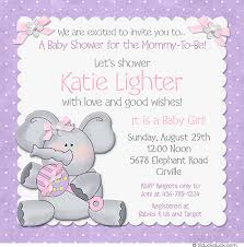 purple elephant baby shower decorations elephant baby shower invitation design graphics