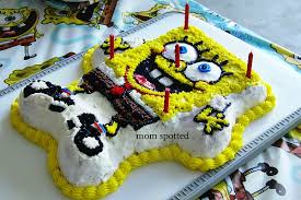 spongebob cake ideas spongebob squarepants s wilton character cake pan for gavin s