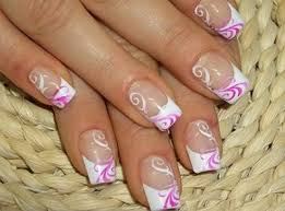 french manucure nail art designs nailsss pinterest french