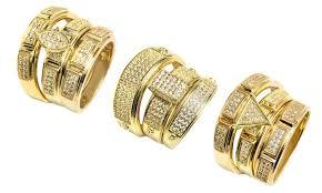 the goods wedding band engagement wedding ring set groupon goods