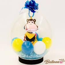 stuffed balloons delivered monkey stuffed balloon