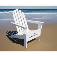 shop trex outdoor furniture cape cod classic white plastic folding