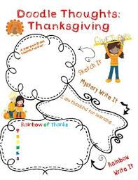 thanksgiving doodles by holladay teachers pay teachers