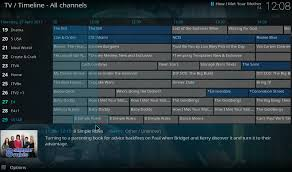 tv guide for antenna users how to use kodi to watch live tv android central