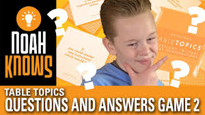 toastmasters table topics contest questions table topics questions and answers game episode 2 youtube