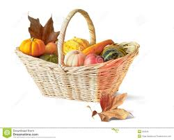 thanksgiving basket royalty free stock photo image 250545