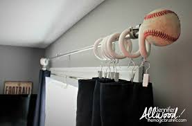 Newell Curtain Rods by Curtains Ideas Baseball Curtain Rod Pictures Of Curtains