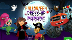 Halloween Monster Games by Nick Jr Halloween Dress Up Parade Games Channel For All