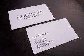 premium uncoated business cards luxury printing