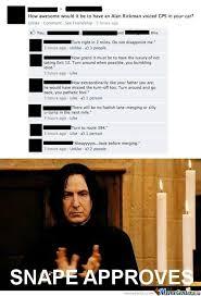 Snape Meme - severus snape by friendzoned meme center