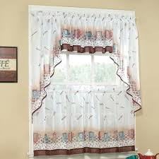 Coffee Themed Curtains Bed Bath Kitchen Curtains Medium Size Of Coffee Themed Wall