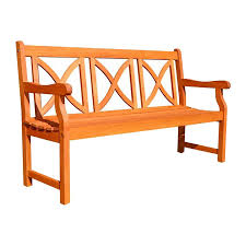 Eucalyptus Bench - shop vifah balthazar 22 in w x 57 in l eucalyptus patio bench at