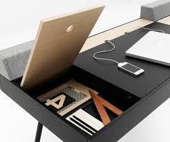 bureau pas cher noir bureau en bois ikea stunning gallery of bureau duangle ikea micke