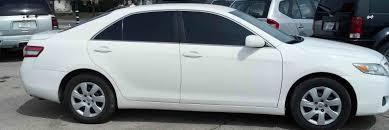 toyota white car loughmiller motors