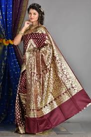 dhakai jamdani saree buy online buy sarees online benarasi dhakai jamdani chiffon