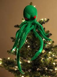 cthulhu tree topper holiday decorating ideas pinterest tree