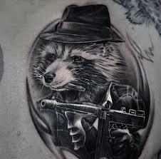 50 gangster tattoos for mobster design ideas