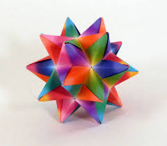 rainbow origami rainbow decoration rainbow