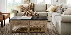 Living Room Design Ideas  Inspiration Pottery Barn - Pottery barn family room