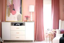 White And Pink Nursery Curtains Pink Nursery Curtains Teawing Co