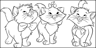 realistic cat coloring pages to print color zini