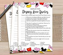 wedding quotes disney disney quotes match printable bridal shower quote