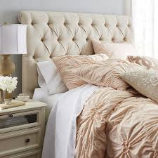 bedroom elegant tufted bed design ideas with pier one headboard