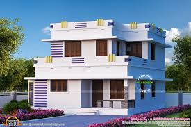simple 3 bedroom flat roof home design 1879 sq ft appliance house
