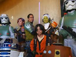 costume party fan groups invade star wars celebration anaheim