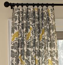 handmade custom curtain panels dove grey gray caftan ikat by home