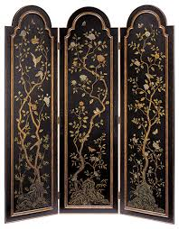arched top folding screen traditional screens and room