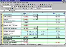 12 Month Profit And Loss Projection Excel Template Excel Flow Budgeting