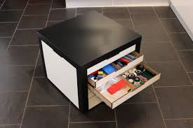 Ikea Lack Hacks Lack Table With Lego Storage Drawers Ikea Hackers Ikea Hackers