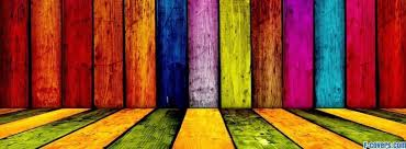 colorful wood wall cover timeline photo banner for fb