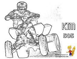 stupendous riders dirtbike coloring pictures atv quads free