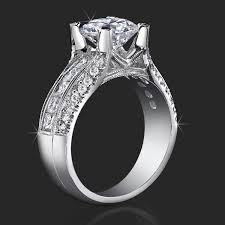 diamond mounting rings images Attention grabbing tension set basket mounting with floating jpg